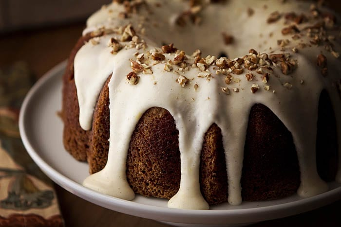 Hummingbird Cake with Lemon Mascarpone Frosting