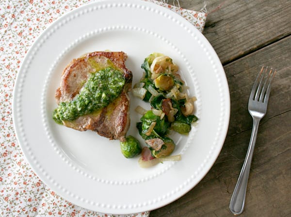 Pork Chops with Chimichurri Recipe