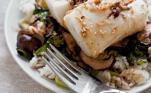 Asian turbot recipe