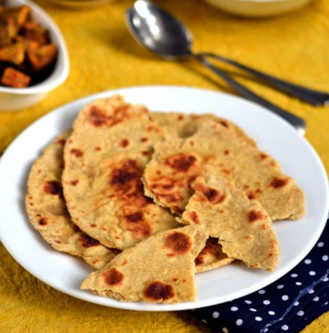 Sweet Potato Flatbread Paratha recipe