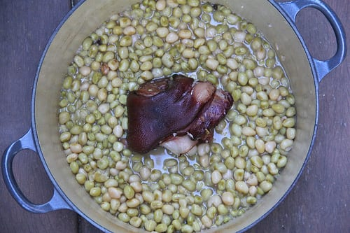 Southern Zipper Peas with Ham Recipe