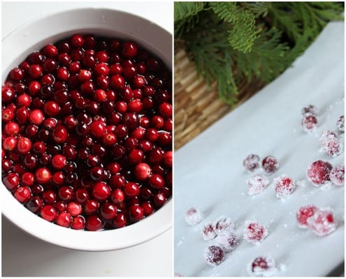 Sugared Cranberries Recipe