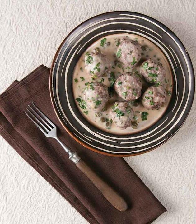 German goose meatballs recipe
