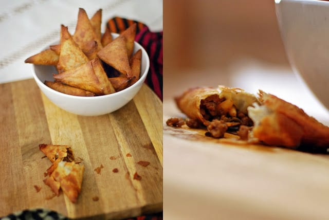 Beef & Pine Nut Samosa Recipe