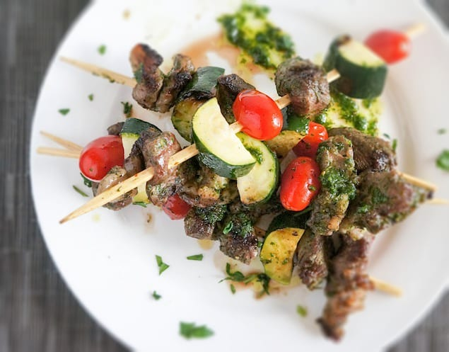 Chimichurri-Steak-Pinchos
