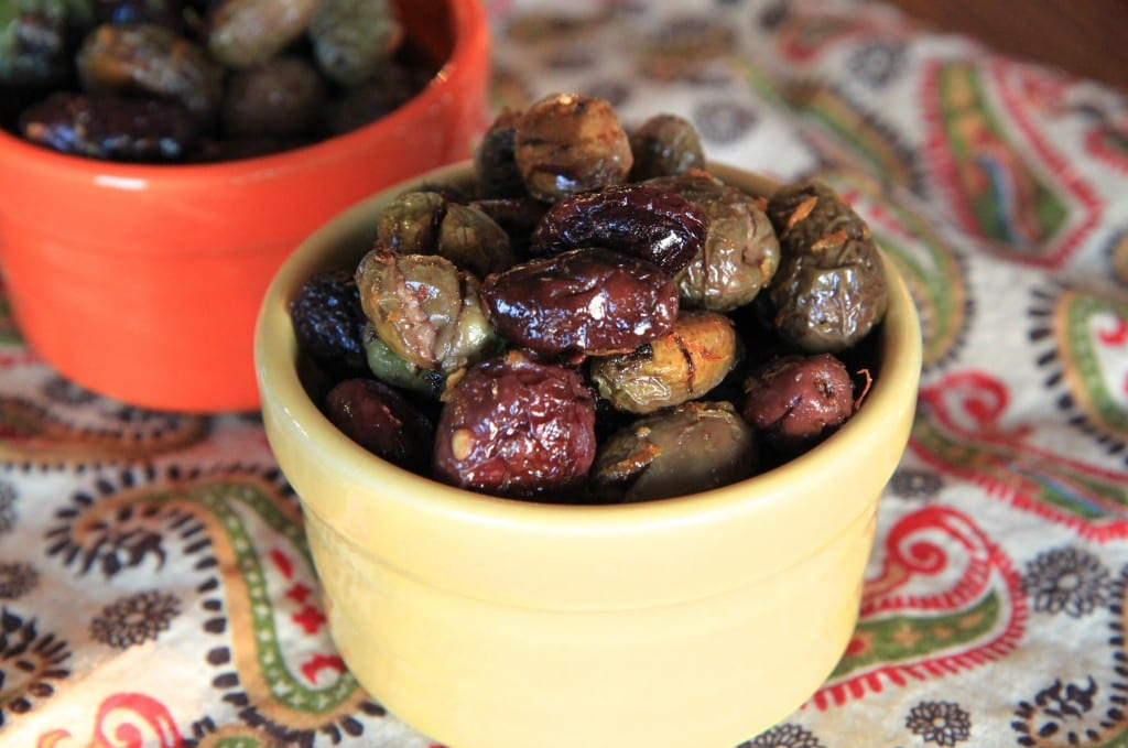 Citrus & Rosemary Roasted Olives Recipe