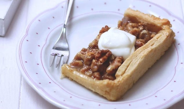 toffee walnut pie recipe