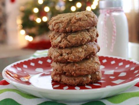 Gluten-Free Oatmeal Peanut Butter Cookies Recipe