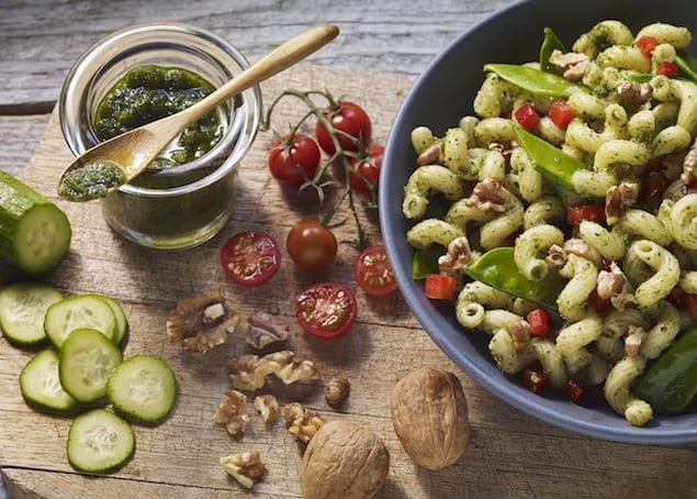Cilantro Walnut Pesto Recipe