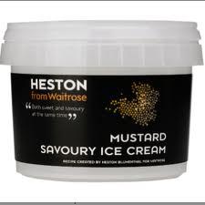 Mustard Ice Cream by Heston from Waitrose