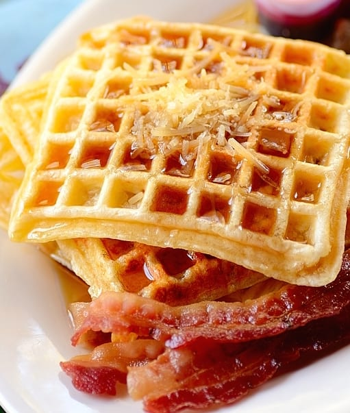 Brazilian Cheese Waffles Recipe