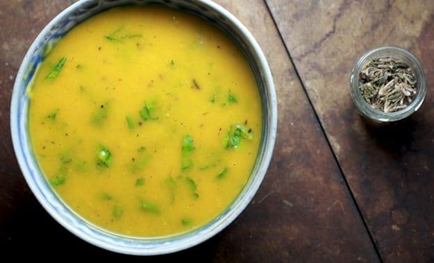 roasted butternut squash soup fennel ginger