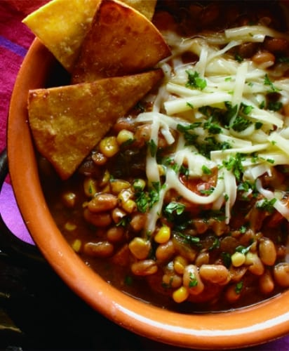 White Bean & Chicken Chili Blanca Recipe