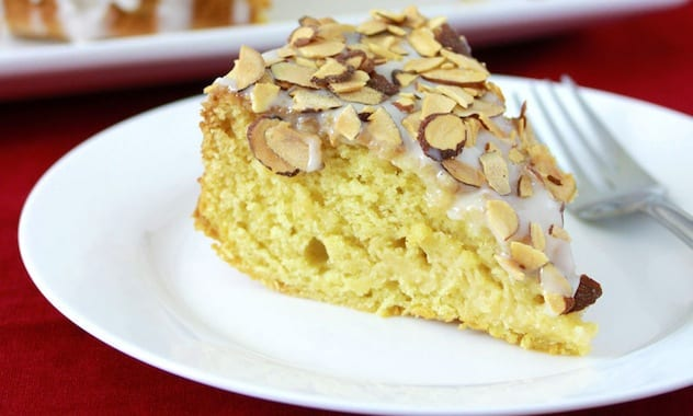 Almond and honey cake