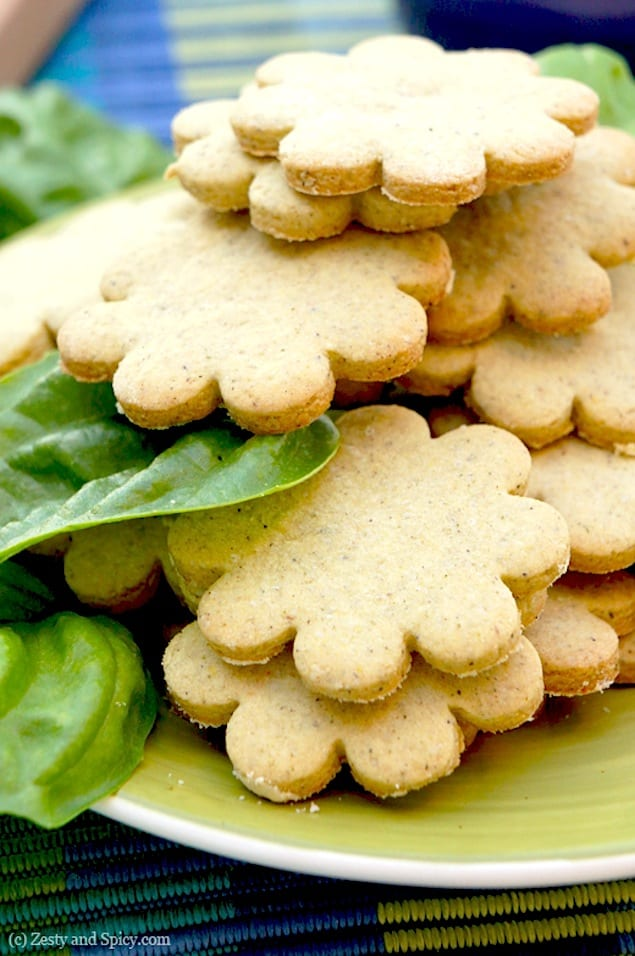 basil tea cookies gluten free recipe