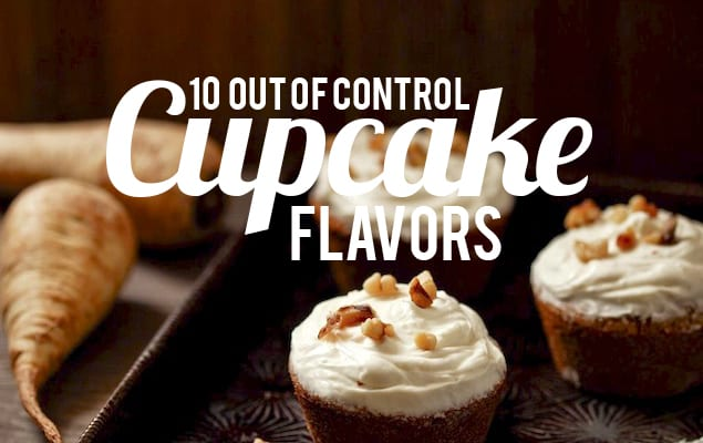 Cupcake Flavors Featured