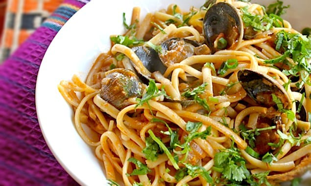 pasta with clams recipe red sauce