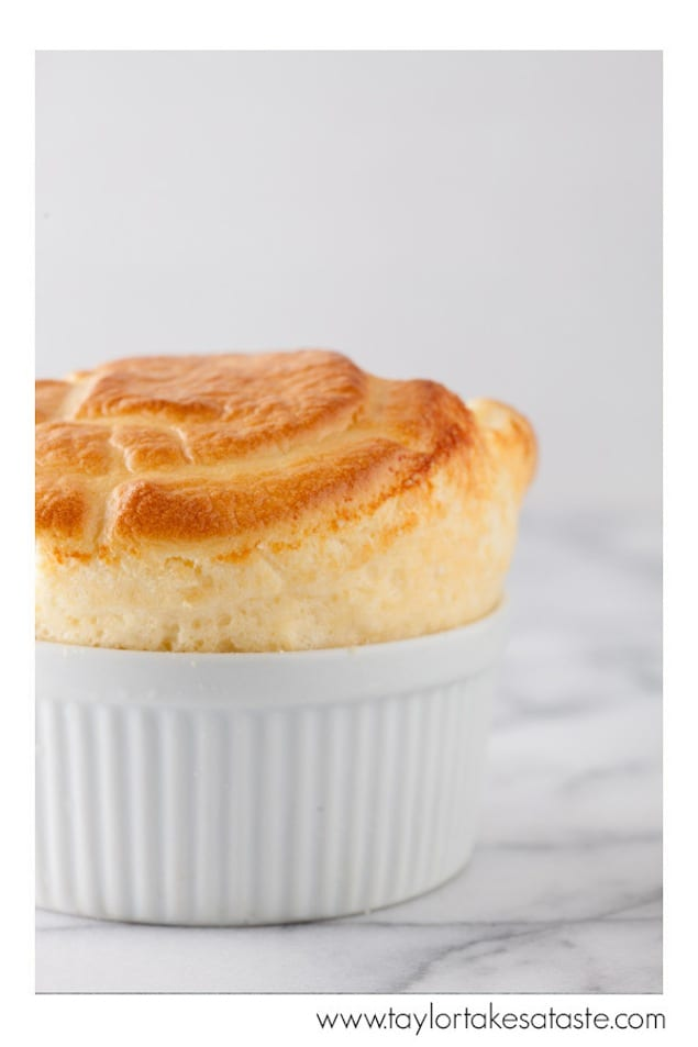 Three Cheese Soufflés