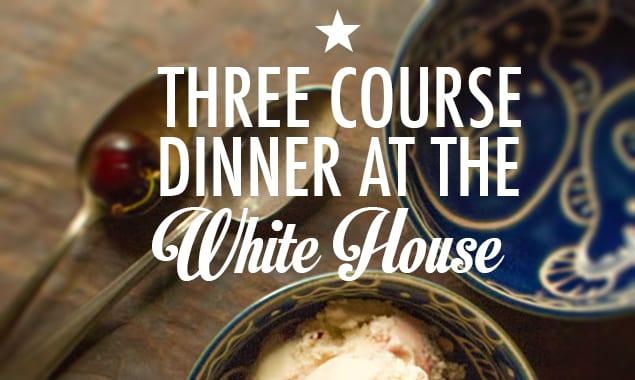 White House Menu Presidents Day