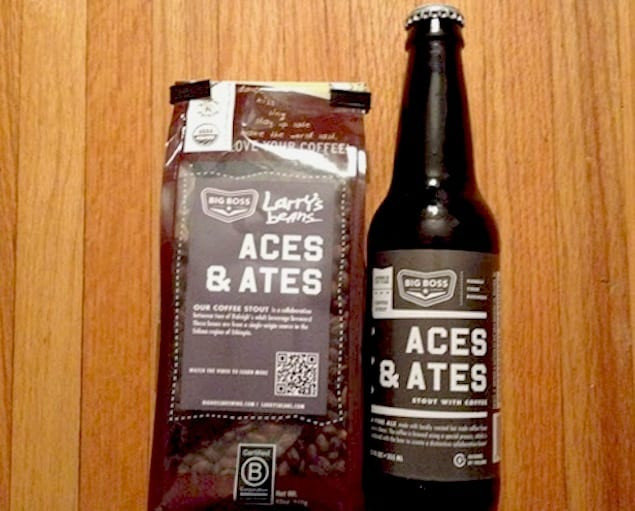 aces and ates coffee and stout