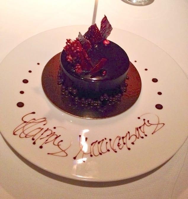 2014_02_10 Le B anniversary cake