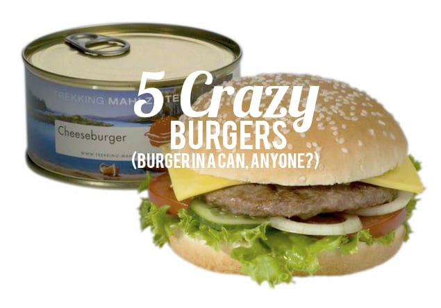 Crazy Burger Flavors