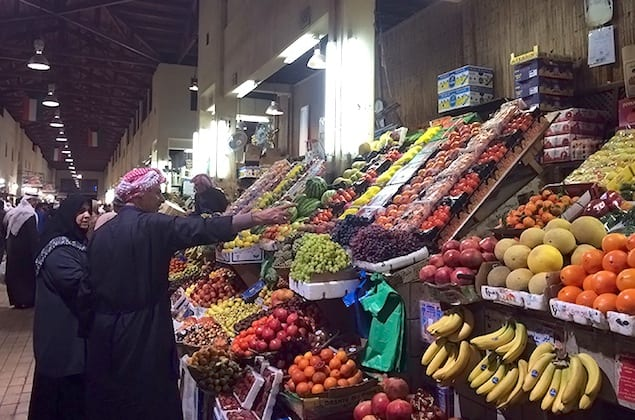Produce-Stand-at-Souk-Al-Mubarakiya