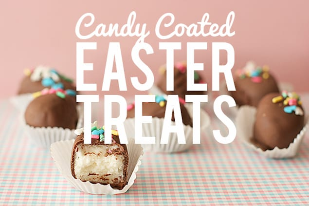 Candy Coated Easter Treats