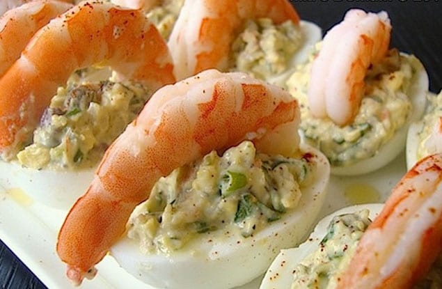 shrimp dhala aka deviled shrimp deviled shrimp camarones a la deviled ...