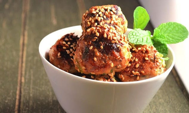 sesame-chicken-meatballs