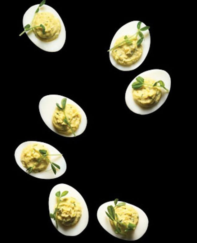 wasabi-deviled-eggs