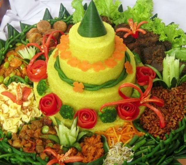 Nasi Tumpeng Cake Ideas And Designs