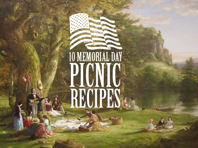 Memorial Day Memorial Day Recipes Find more than recipes for burgers, steaks, potato salad, and more, perfect for Memorial Day picnics and barbeques.