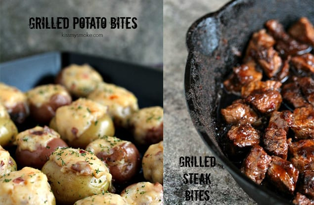 potato steak bites