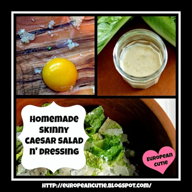 An EGG For Every Occasion — Caesar Salad with Yogurt – Honest ...