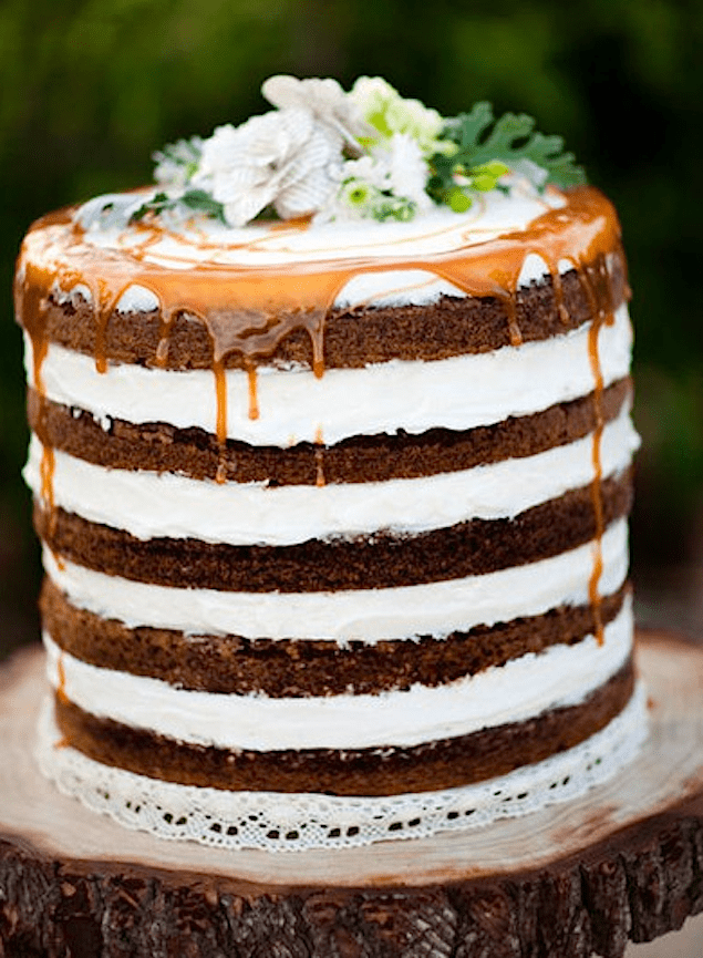 Ten Deliciously Naked Cakes