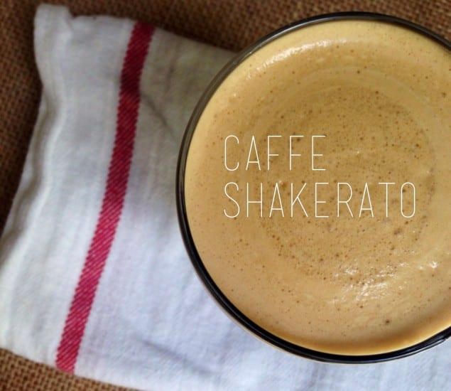 The Holy Grail Of Coffee: Caffe Shakerato