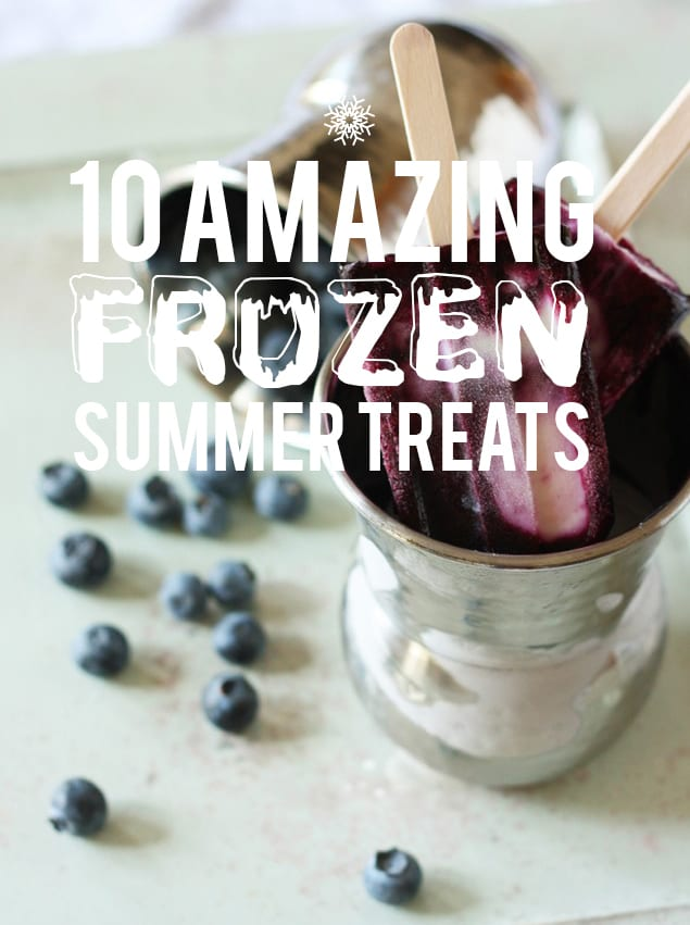 Frozen Summer Treats Recipes