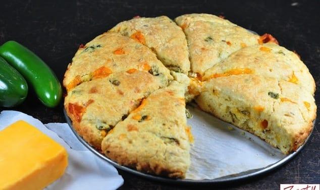 cheddar jalapenos scones 9
