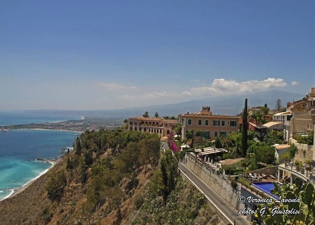 2. VIEWS OF TAORMINA FROM THE PIAZZA IX APRILE