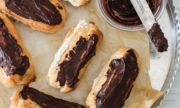 Easy-Choux-Pastry-Recipe-for-Coffee-Cream-Eclairs-9
