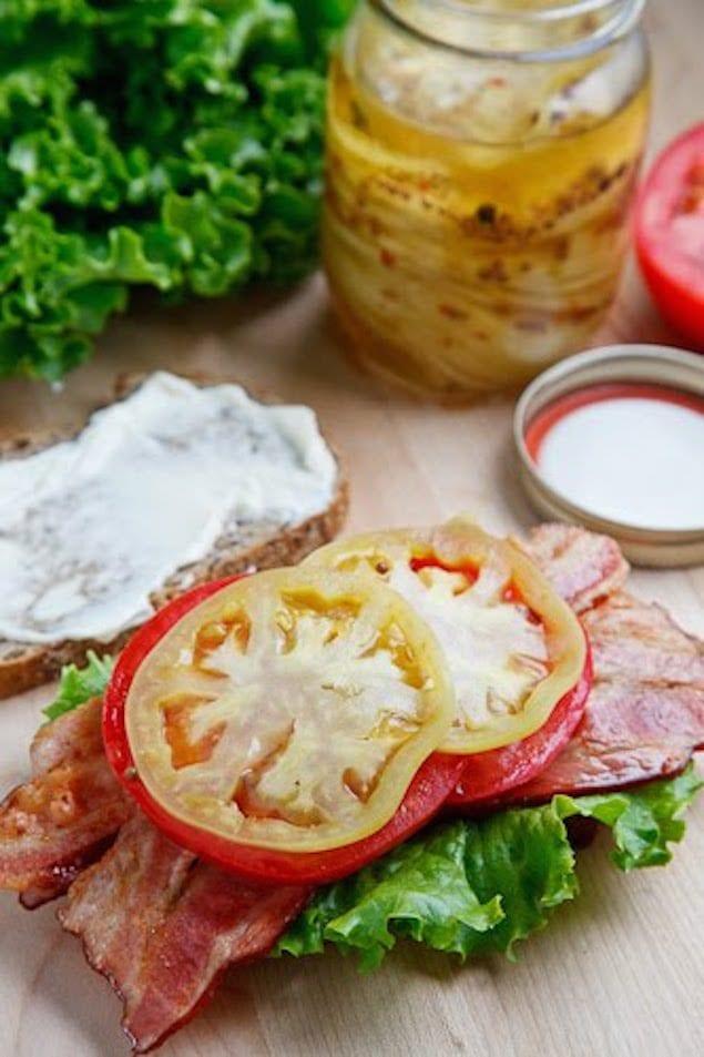 Pickled Green Tomato BLT 500 9950