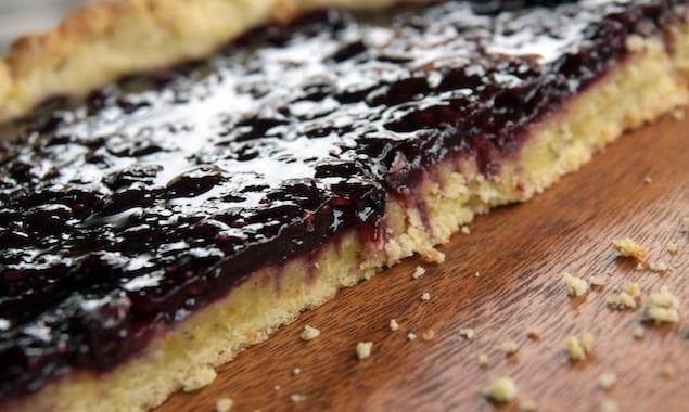 Plum jam tart-Crostata di susine