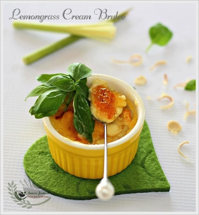 lemongrass creme brûlée – honest cooking