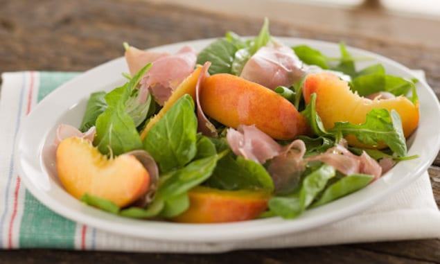 peach-greens-salad-relish