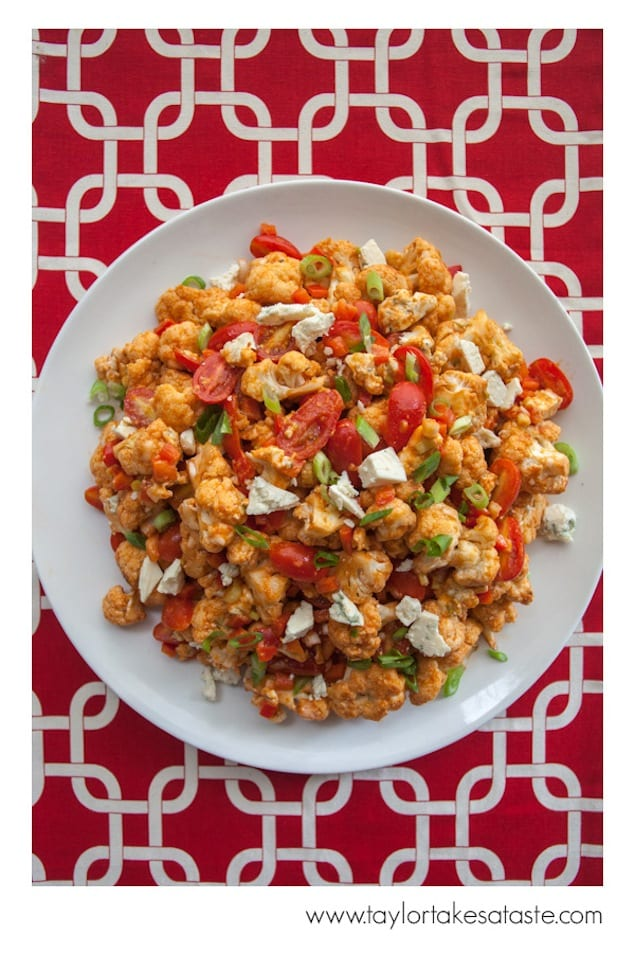 Roasted Cauliflower Salad with Tabasco and Blue Cheese – Honest ...