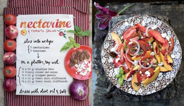 nectarine-tomato-salad_forestfeast