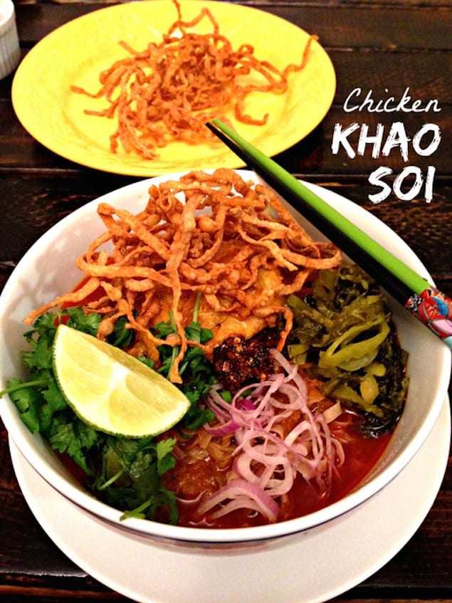 Chicken Khao Soi: Curry Noodle Soup – Honest Cooking