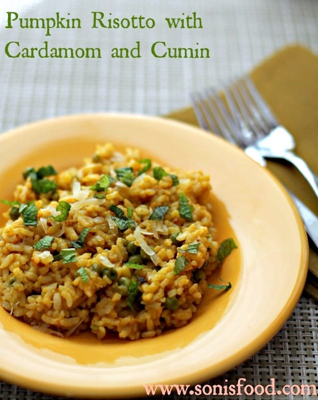 Cardamom and Pumpkin Risotto – Honest Cooking