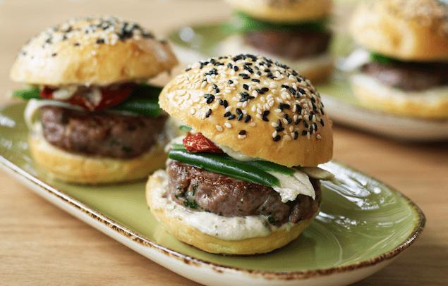 Fancy Burger Alert: Veal Sliders